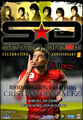 "ULTAH SEVENDREAM ENTERTAINMENT KE 8 , ♥ VS ♥ EL LOCCO GONZALEZ ""STRIKER TIMNAS INDONESIA"""
