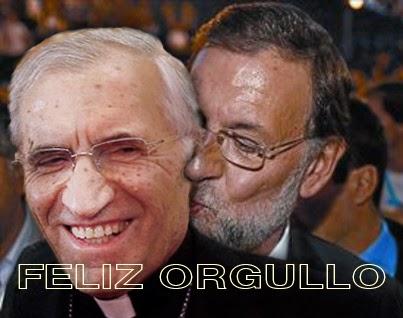"""Día del Orgullo"",""LGTB"",""Rouco Varela"",""Mariano Rajoy"",""Chueca"""
