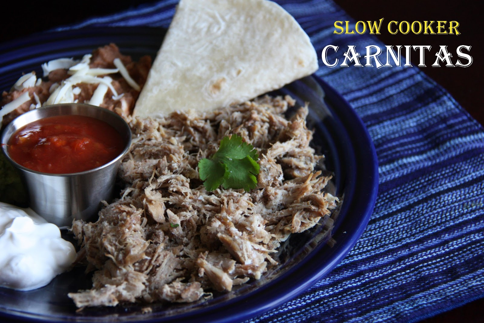 slow cooker carnitas recipe from william sonoma s the new slow cooker ...