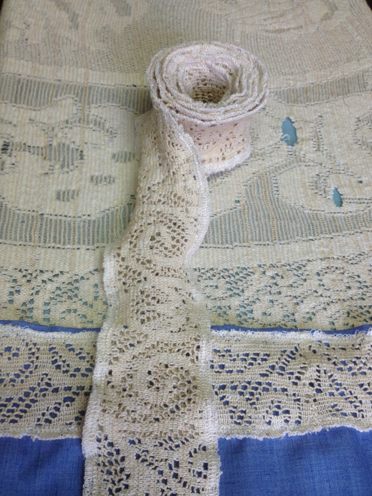 fresh juniper DIY Vintage Lace Trim Upcycle Your Lace