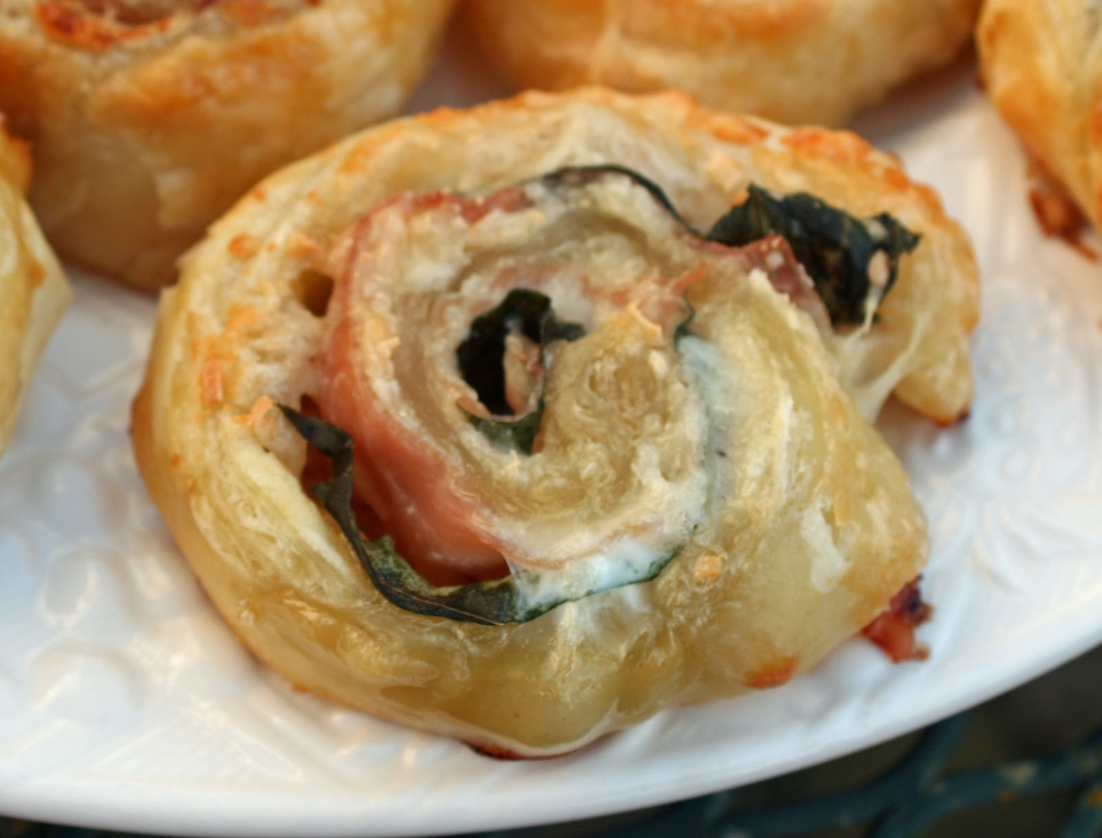 Food and Garden Dailies: Puff Pastry Pinwheels with Prosciutto ...