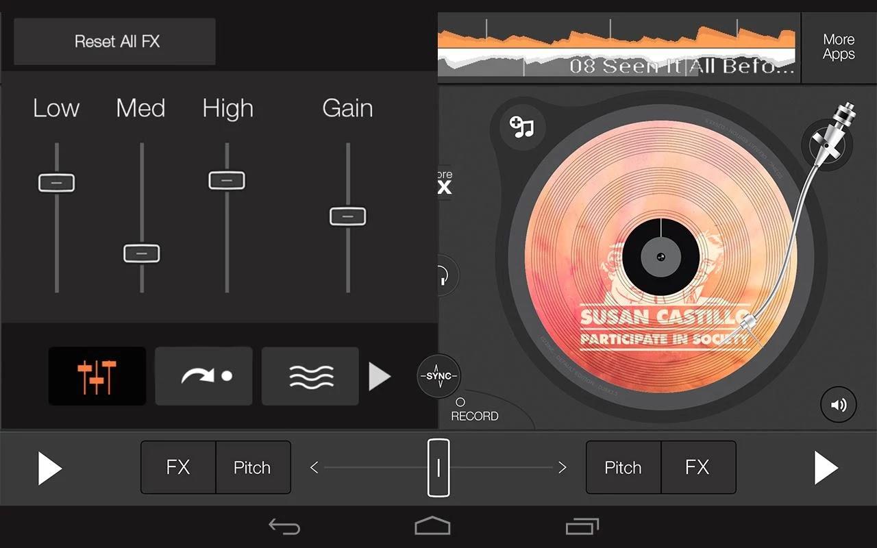 Edjing - DJ Music Mixer Studio