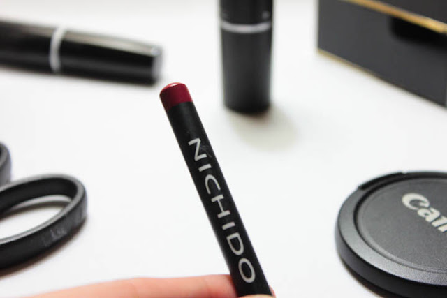 Nichido Lip Liner in Coral Rust Review