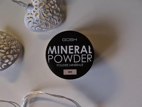 Gosh mineralinė pudra 004  NATURAL ir šepetėlis 424