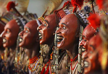 Bộ tộc Wodaabee, Nigeria