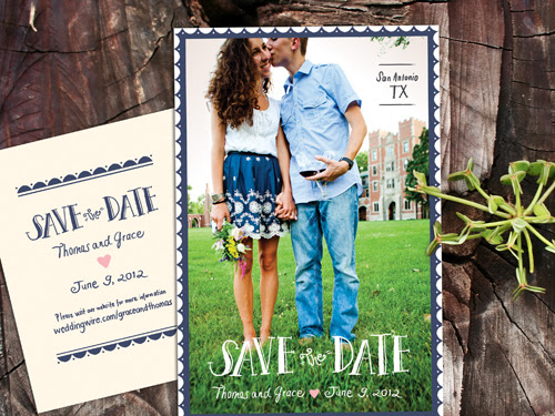 Save The Date DIY Postcards: Wedding Announcement