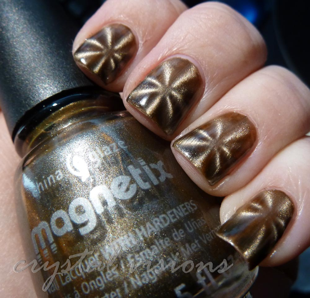 Crystal Visions: China Glaze Magnetix: You Move Me