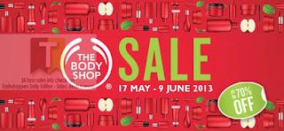 The Body Shop Sale 2013