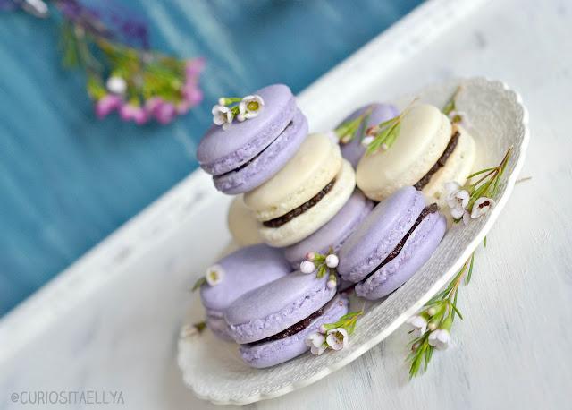 Lavender & Ginger Macarons