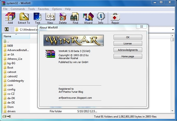 how to get winrar full version for free