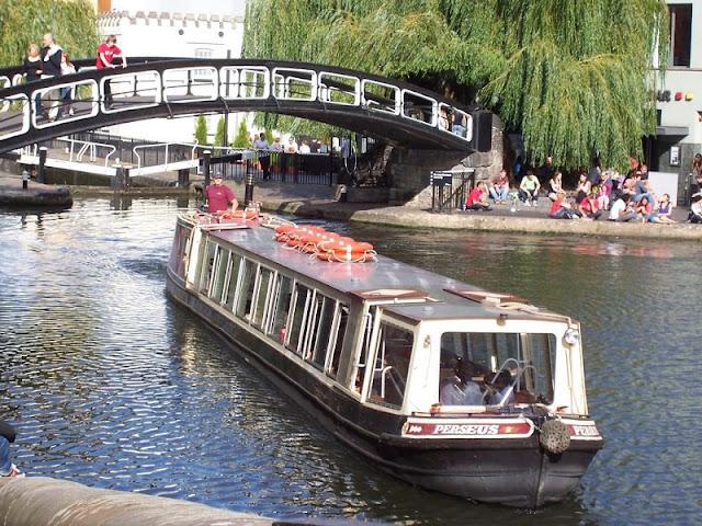 Canais em Londres