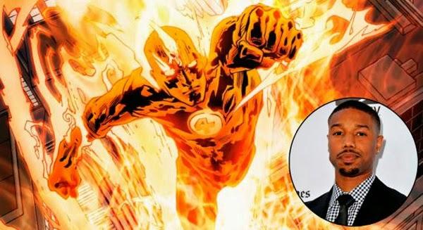 Michael B. Jordan - Human Torch