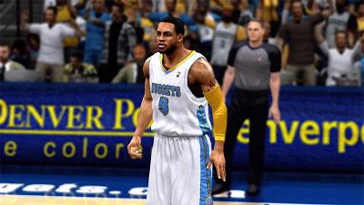 NBA 2K13 Andre Iguodala Realistic Face Texture