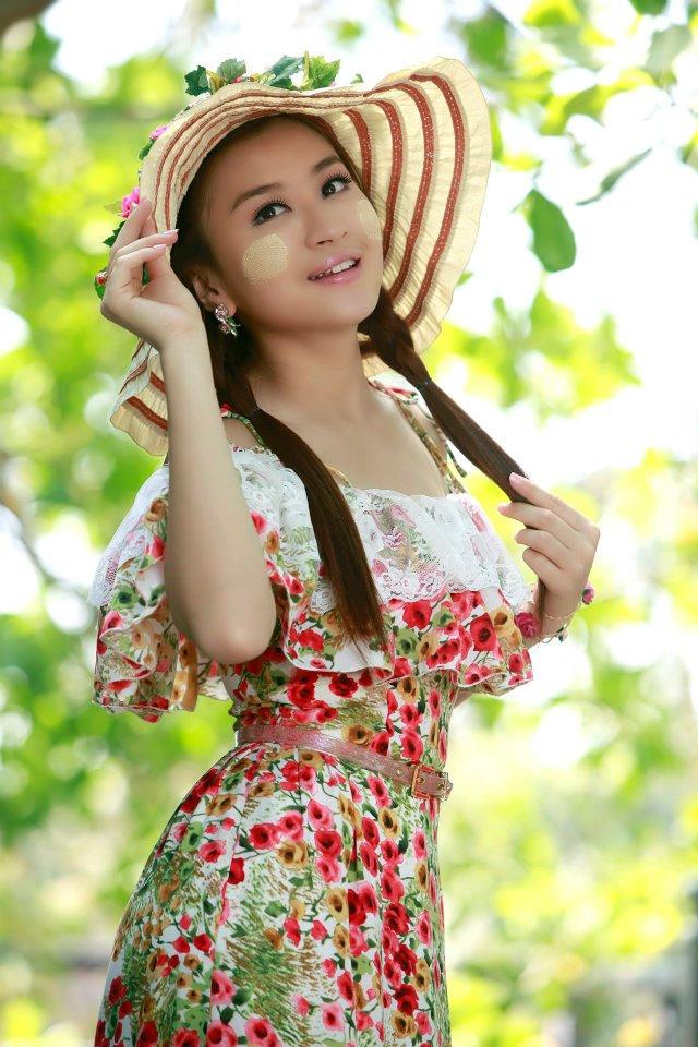 beautifule burmese actress wut hmone shwe yee