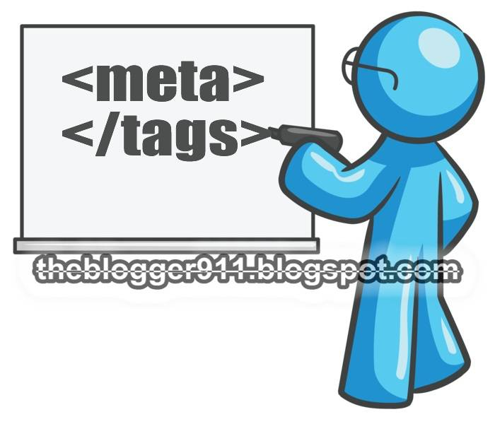 How Add META TAGS to Blogger(blogspot) blogs