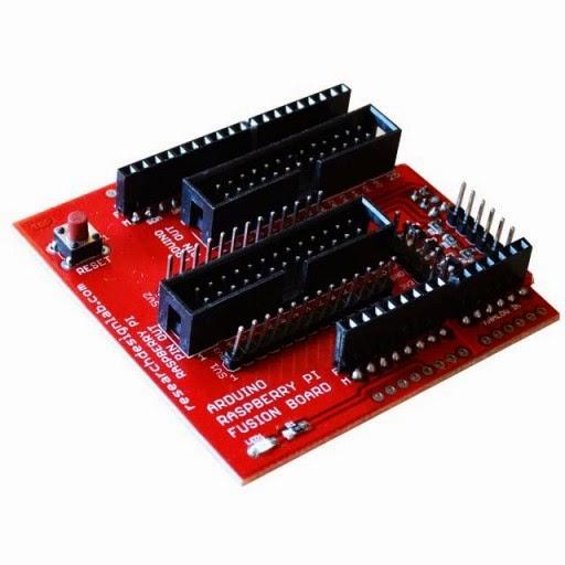 Research design lab fusion board compatible for arduino