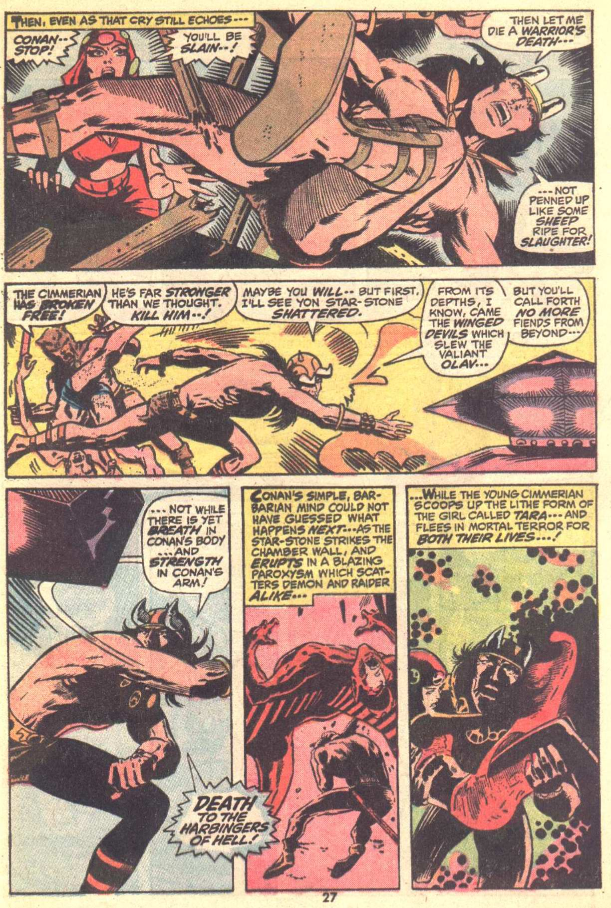 Conan the Barbarian (1970) Issue #22 #34 - English 19