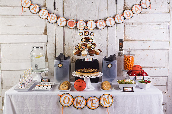 Get The Party Started giveaway basketball theme