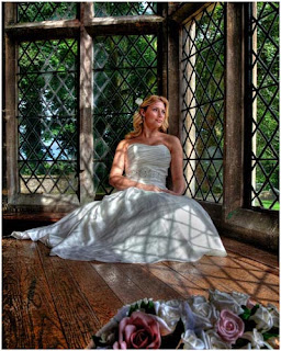 county durham bride at Redworth Hall
