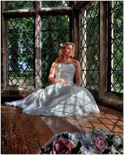 county durham bride at Redworth Hall