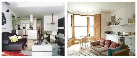 Habitambientes diciembre 2012 - Salon comedor cocina mismo espacio ...
