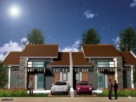 model rumah minimalis sederhana on Model Rumah Minimalis Sederhana dengan park car tepat dibuat untuk ...