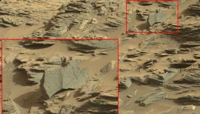 Di temukan Kalajengking Merah Raksasa di Planet Mars?