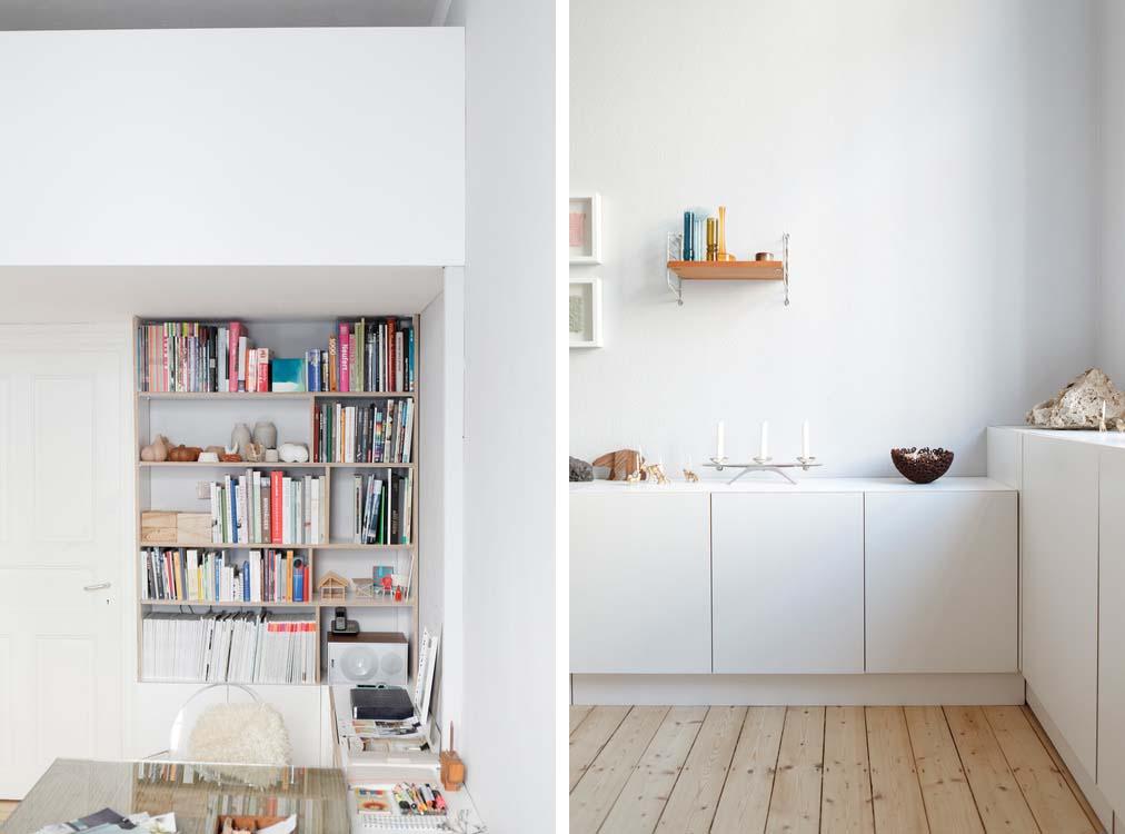 Appartamento scandinavo a wiesbaden by studio oink arc for Miniappartamento design