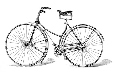 Free Vector Downloads - Vintage Bicycle