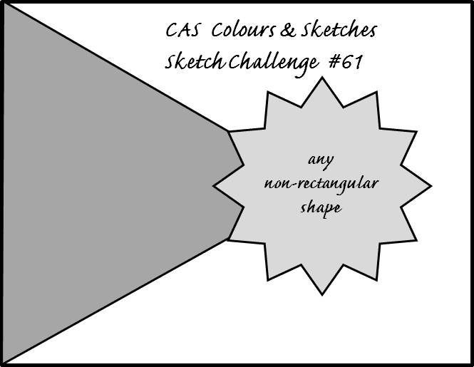 CAS Colours & Sketches Challenge #61