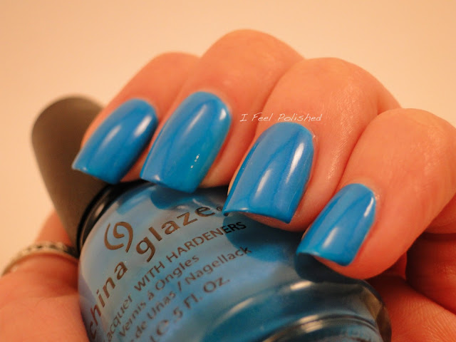 China Glaze Towel Boy Toy Swatch