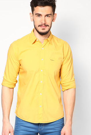 http://www.jabong.com/pepe-jeans-Yellow-Casual-Shirts-499983.html