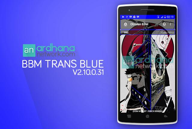 BBM Trans Blue