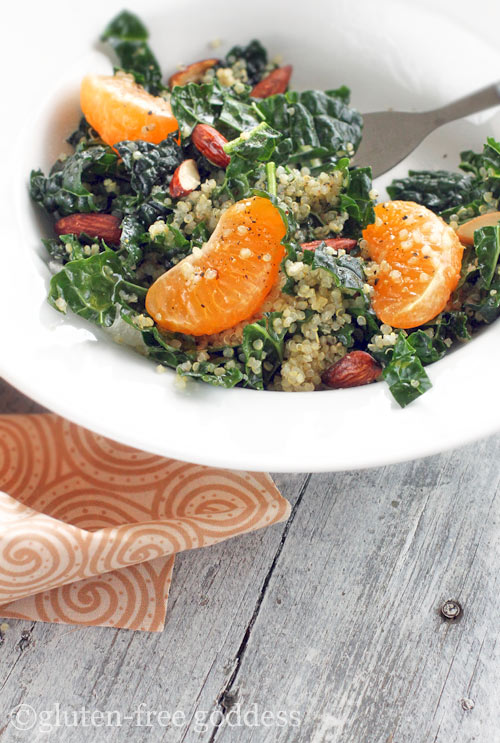 quinoa butternut squash kale salad and an apple cardamom crisp quinoa ...