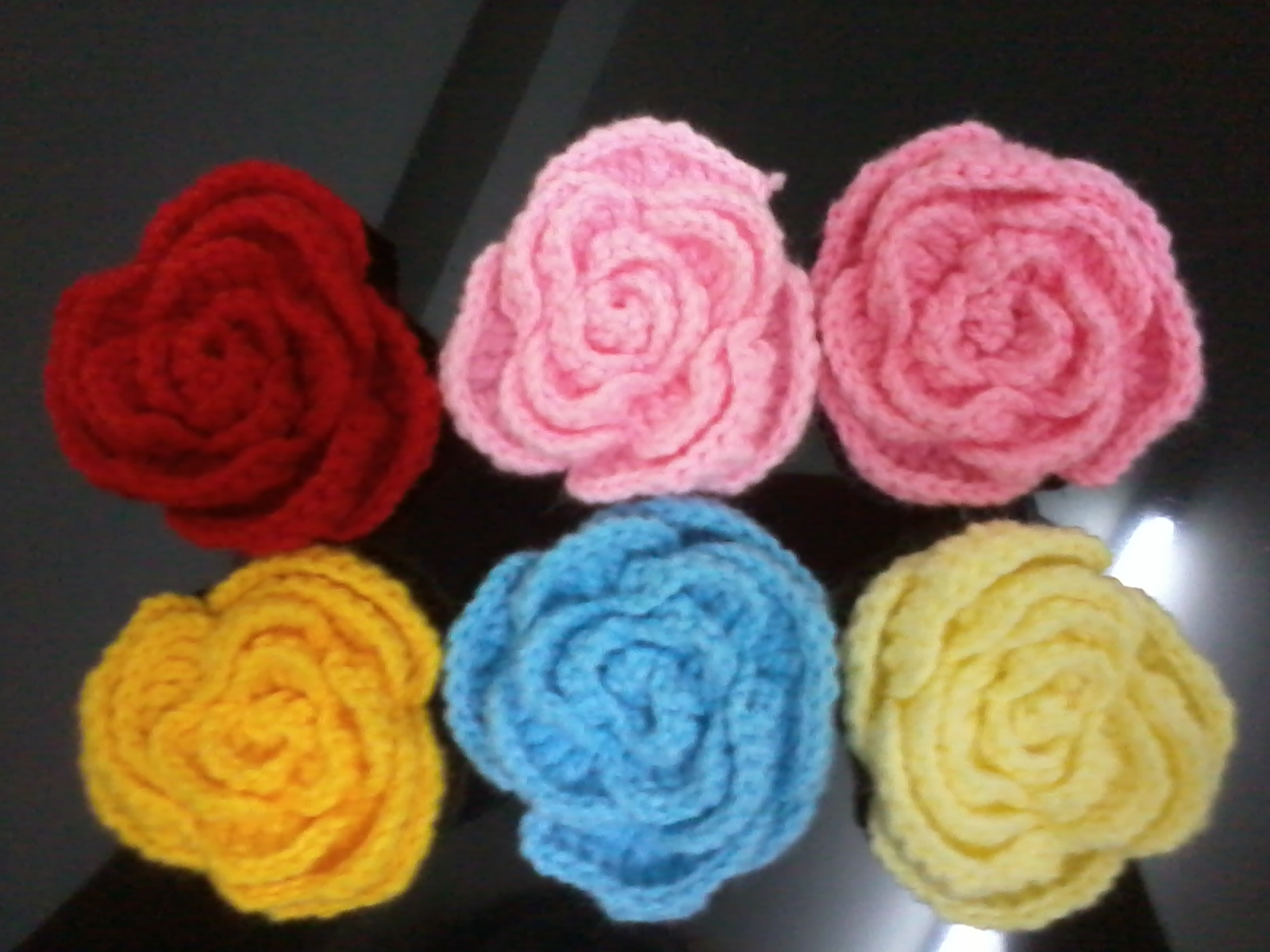 Crocheting Roses : zuzu craft: my rose crochet
