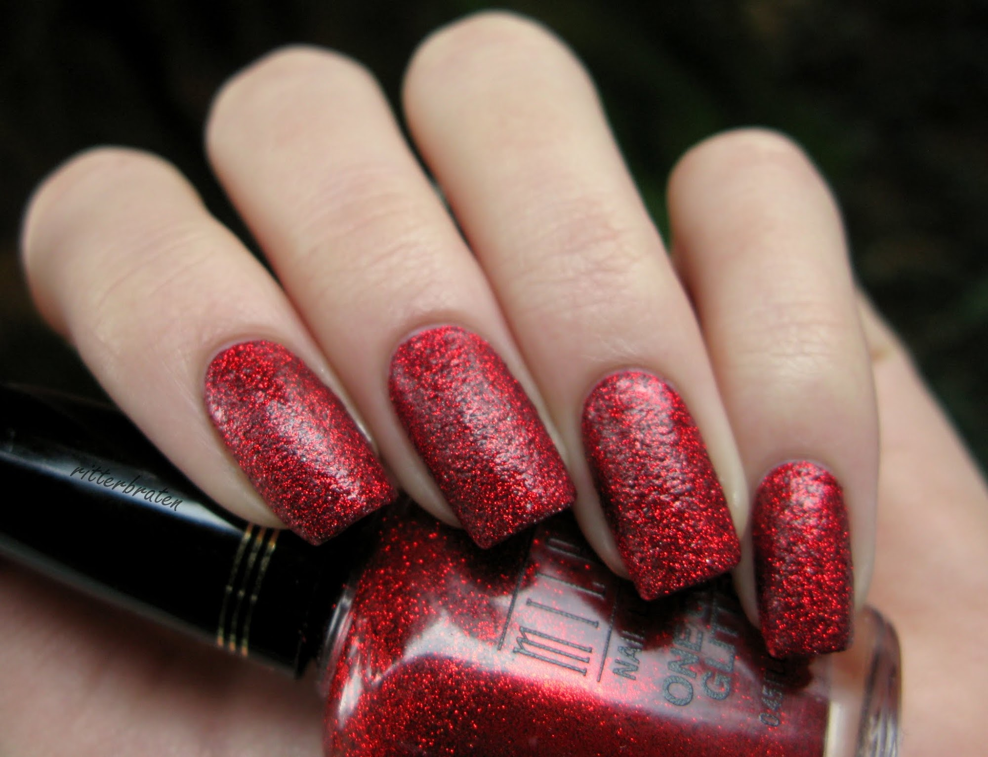 Milani Red Sparkle