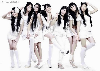 Profil 7 Icons, girl band indonesia