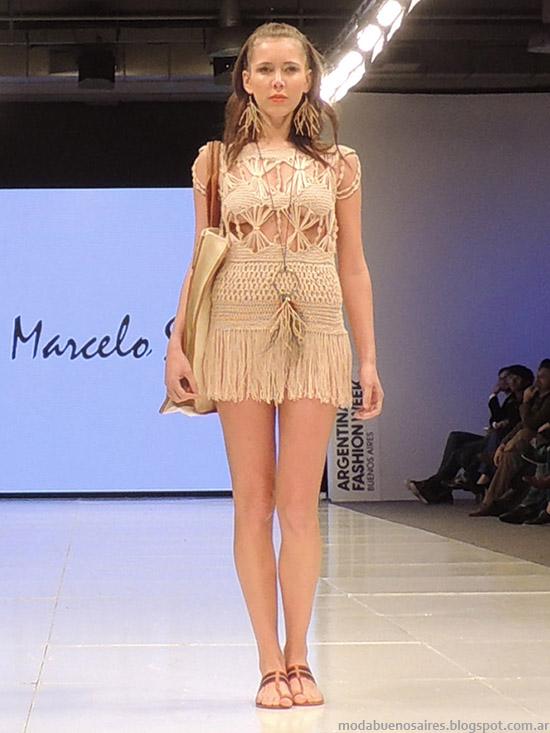 Vestidos primavera verano 2015 Marcelo Senra.