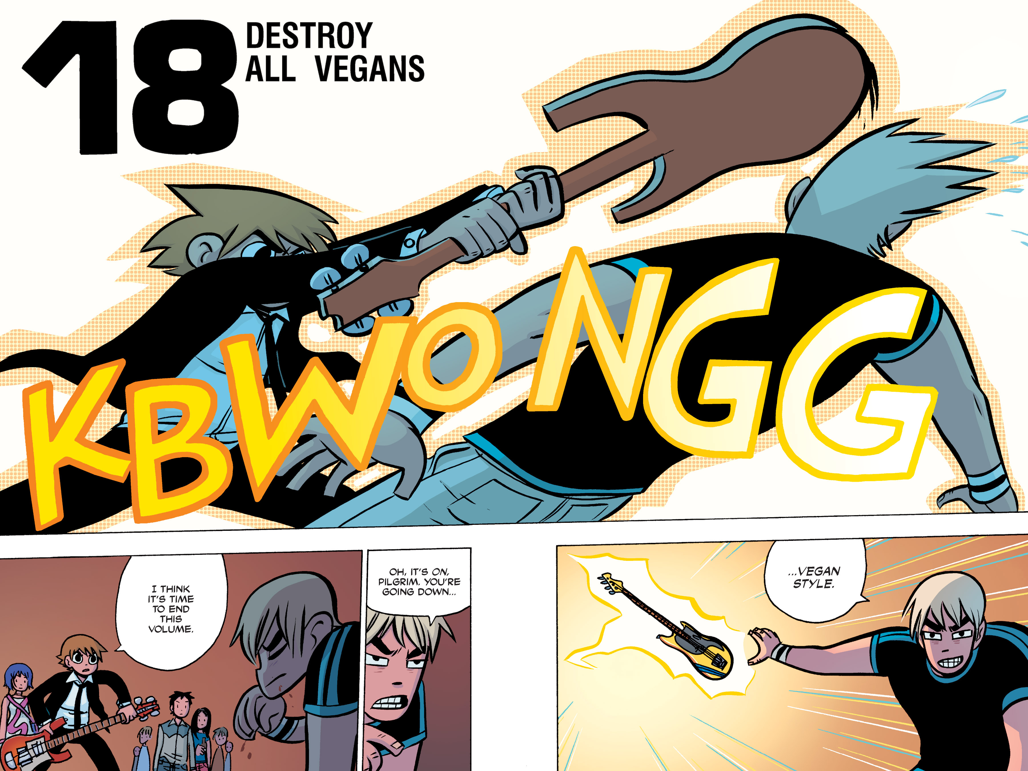 Read online Scott Pilgrim comic -  Issue #3 - 152