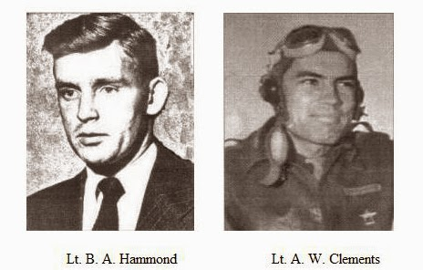 Lt. Buford A. Hammond and Lt. Albert W. Clements - wingmen of Captian Mantell