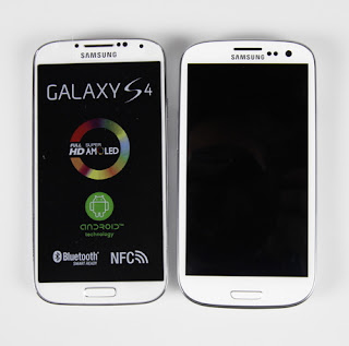 Galaxy S4 and S3 comparision