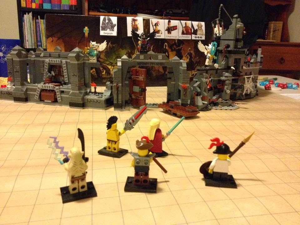 "Good old ""Lord of the Rings"" & ""The Hobbit"" LEGO setting the scene!"