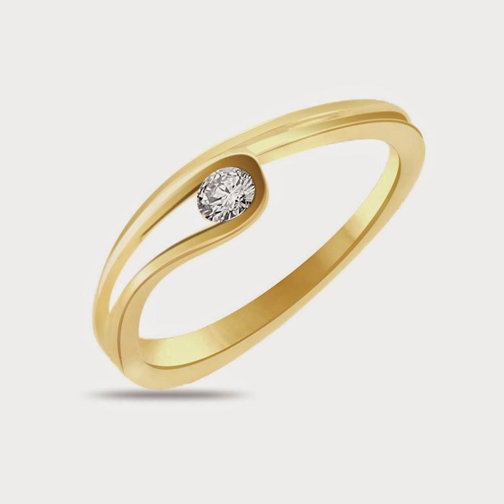 Anillos de compromiso, Oro y Diamantes