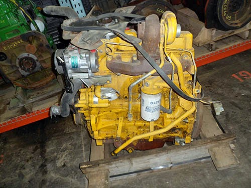 Used Backhoe Engines : All states ag parts news tractor salvage update may