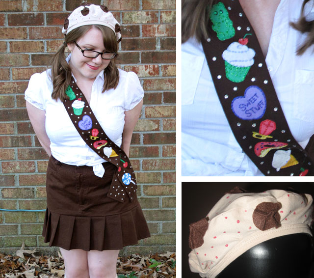 April Sprinkles: Katy Perry inspired girl scout Costume cookie beret candy california gurls