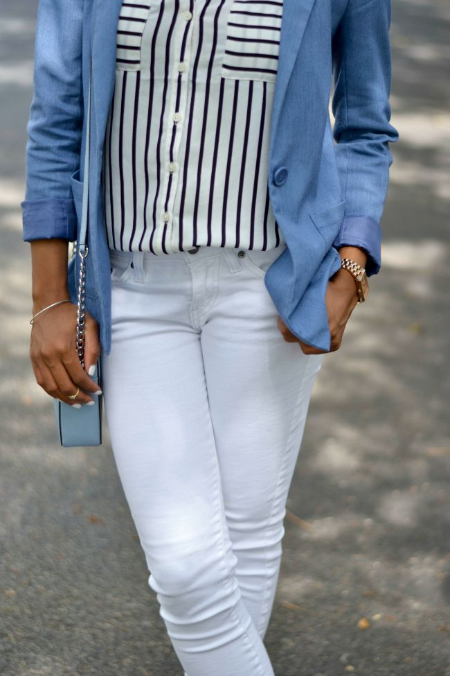 White Jeans To Work | Summer Outfit Ideas