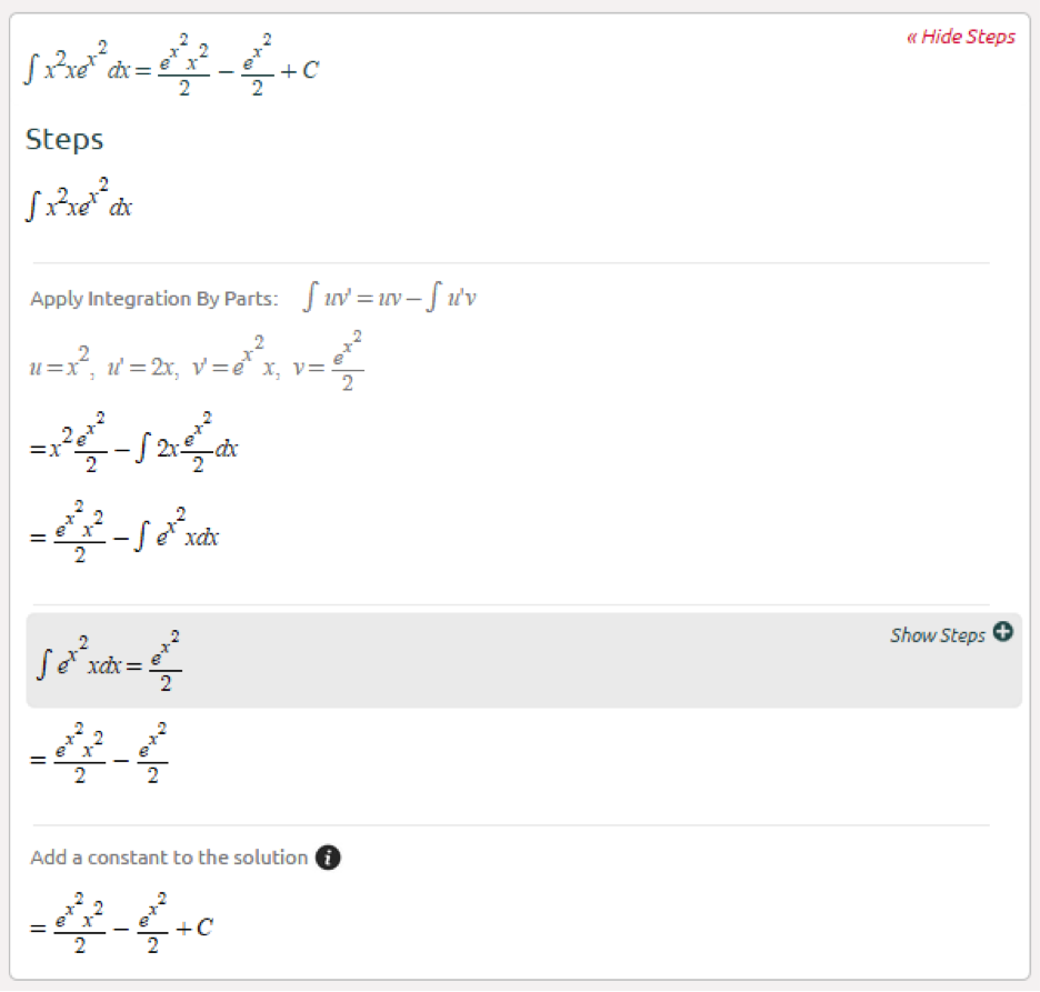 Symbolab Blog Advanced Math Solutions Integral Calculator