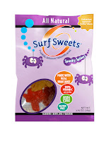surfsweets organic candy spooky spiders