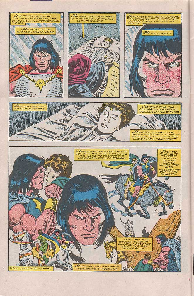Conan the Barbarian (1970) Issue #189 #201 - English 4