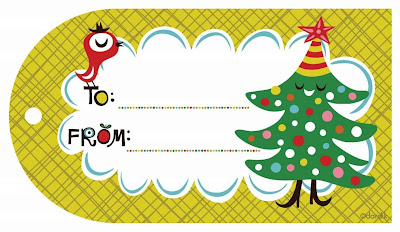Tarjeta de navidad para regalar